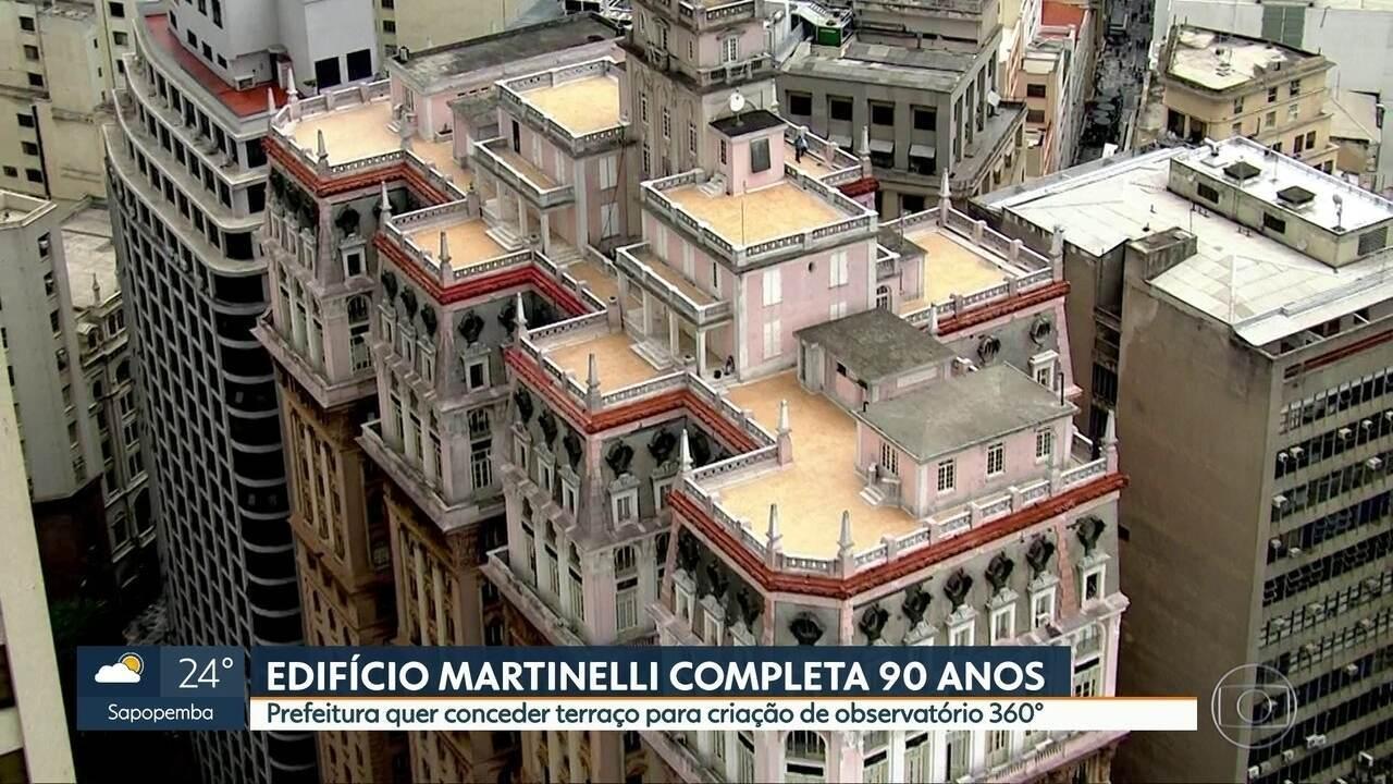 Edifício Martinelli, ícone de São Paulo, completa 90 anos