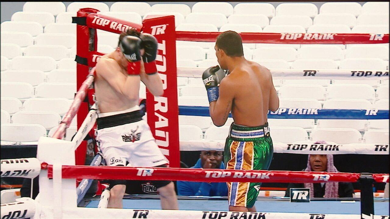 Robson Conceição e Esquiva Falcão encaram argentinos no boxe internacional no SporTV2