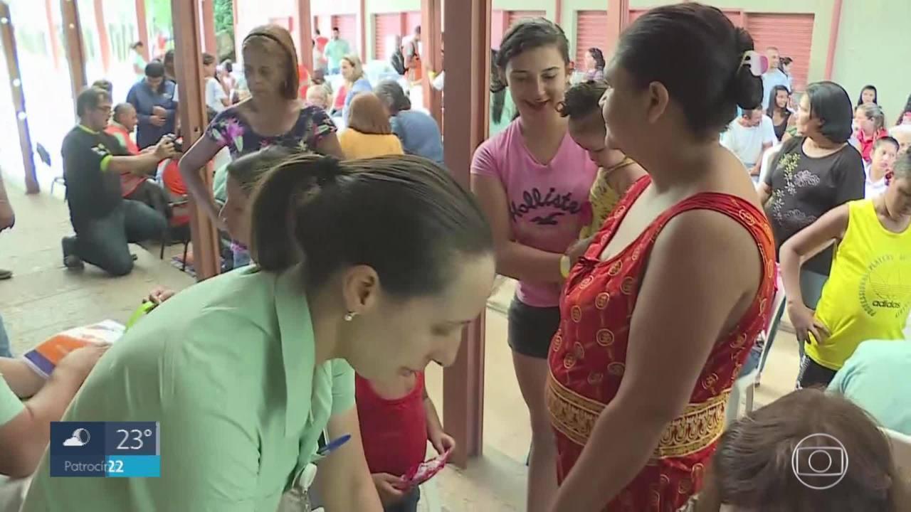 Moradores de Santa Bárbara passaram por simulado para o caso de rompimento de barragem