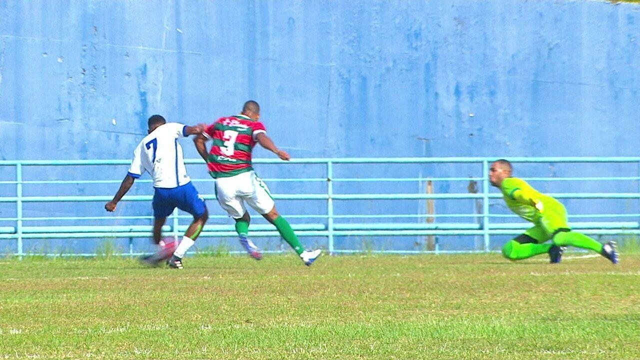 Melhores momentos: Santo André 2 x 0 Portuguesa pela Série A2 do Campeonato Paulista