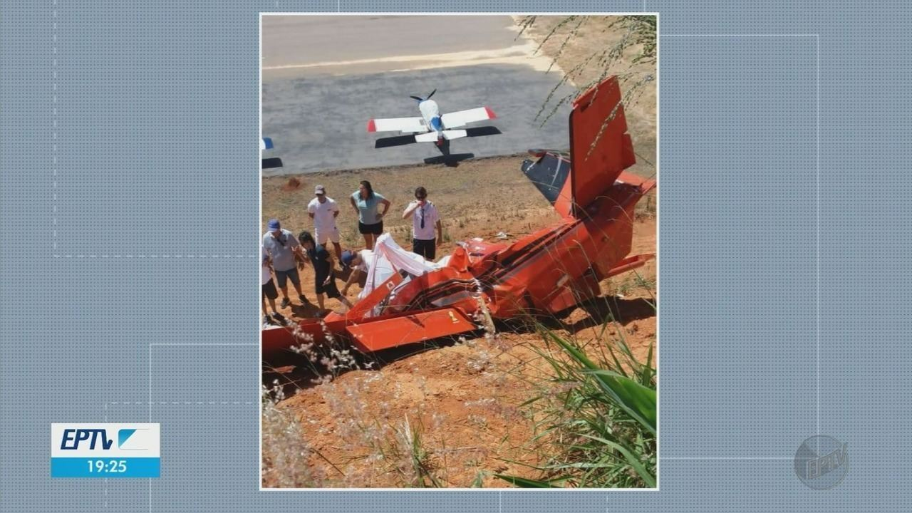 Plane crash leaves two dead in Guape, MG