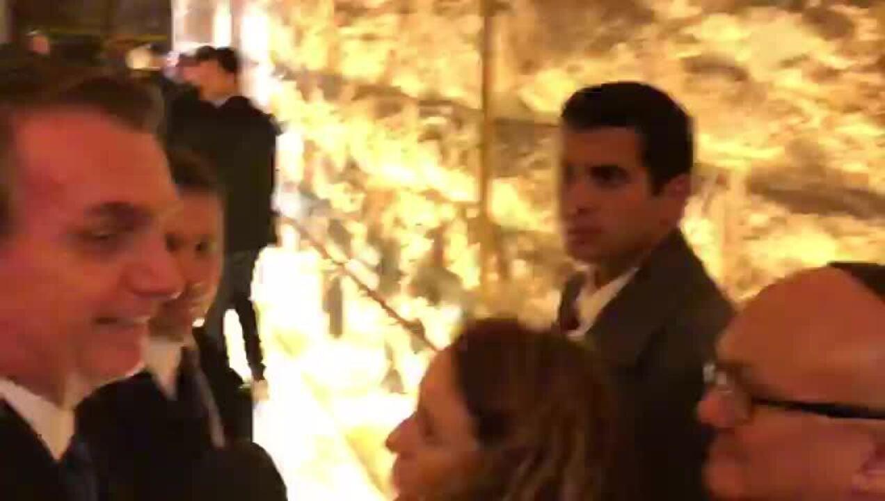 Bolsonaro diz que deixei pedido para o Brasil em Muro das Lamentações, em Jerusalém