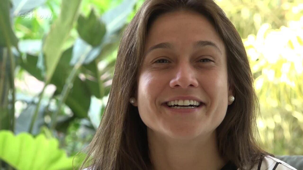 Fernanda Gentil mada recado para Sandy e Junior