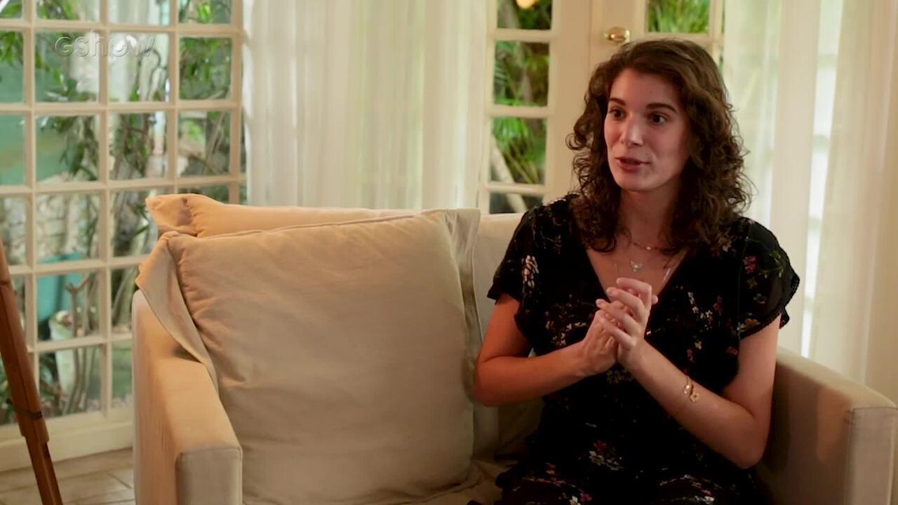 Giulia Bertolli comemora estreia em 'Malhação' e se declara para a mãe, Lilia Cabral
