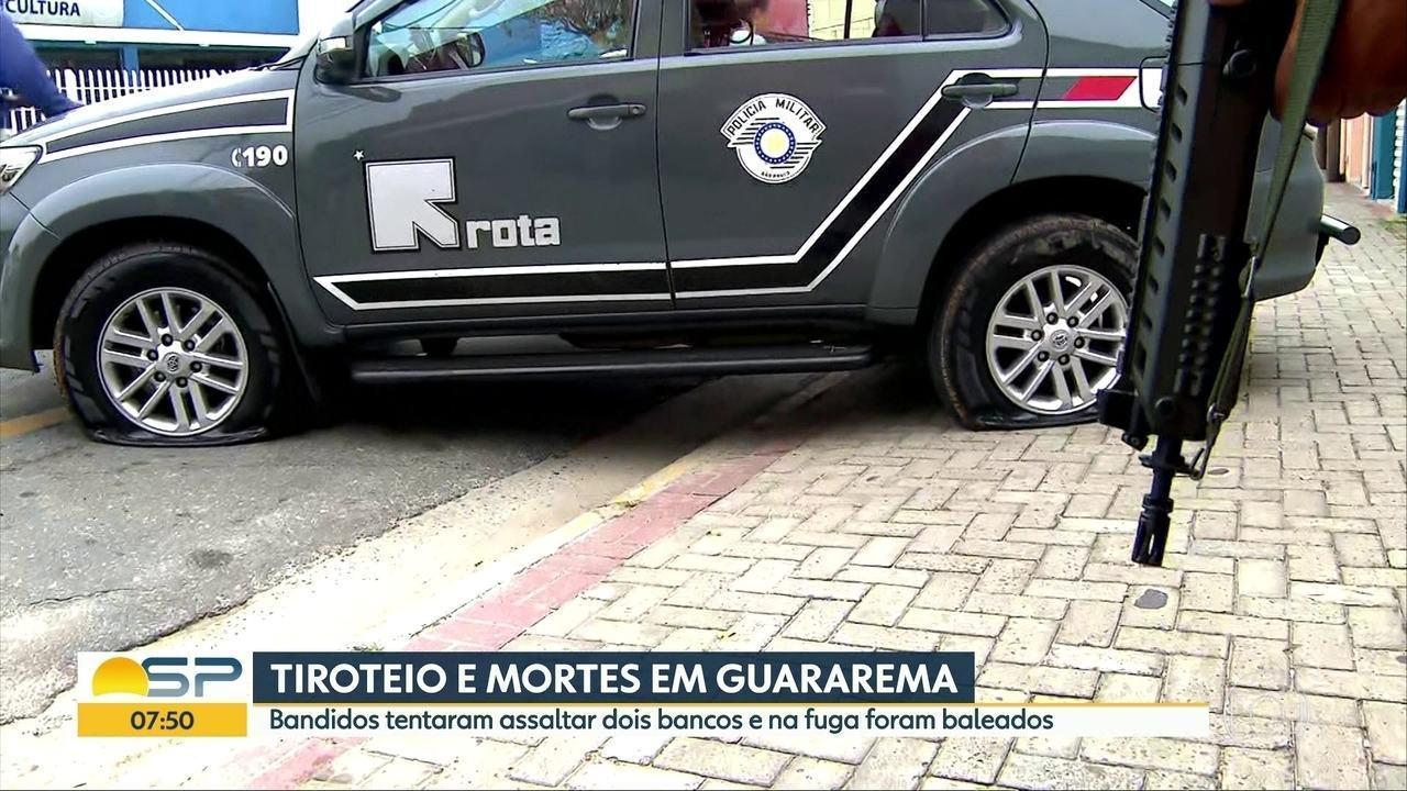 Comandante da Rota Mario Alves da Silva fala sobre ação em Guararema