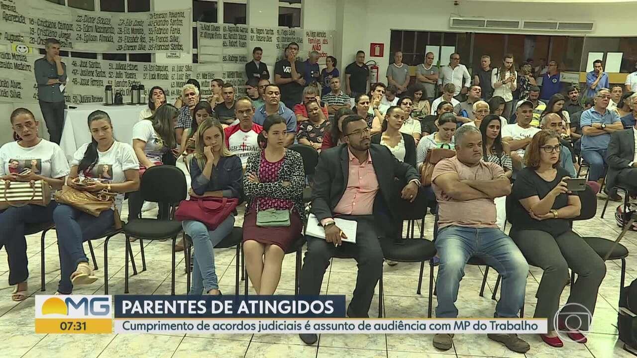 Brumadinho: audiência com Ministério do Trabalho cobra cumprimento de acordos