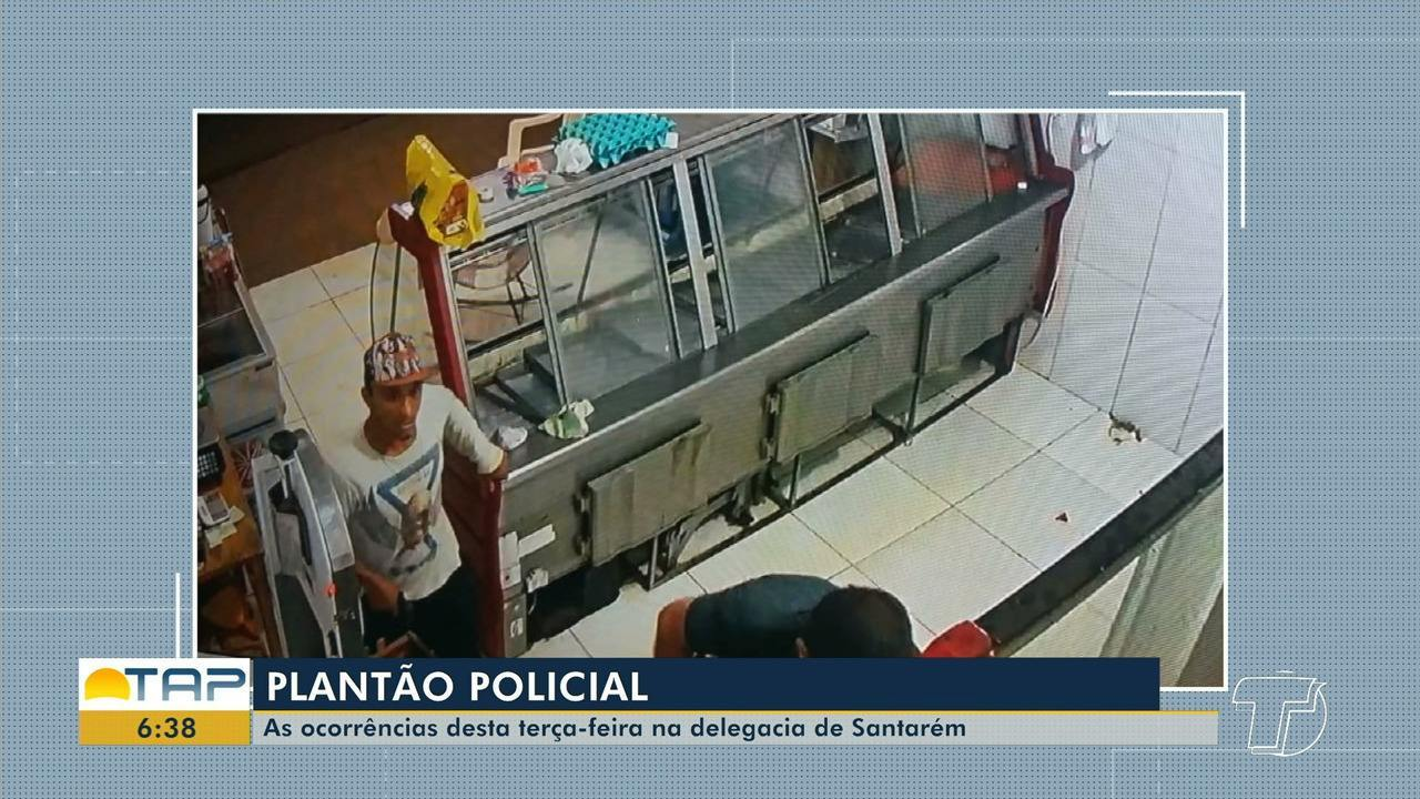 Veja o giro com as notícias da área policial desta terça-feira no Bom Dia Tapajós