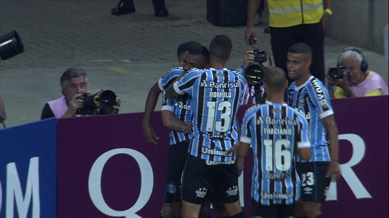 Melhores momentos de Grêmio 3 x 1 Rosario Central pela Taça Libertadores