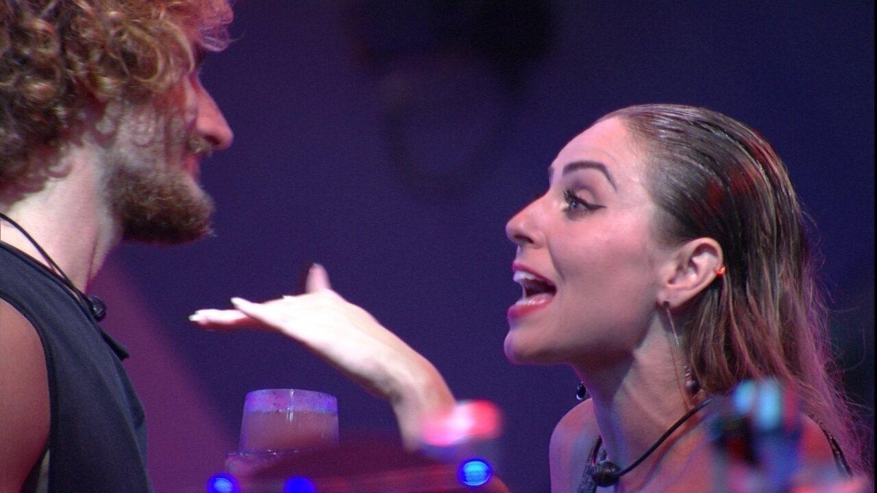 Paula comenta com Alan: 'Você nunca fez nada de bom para mim'