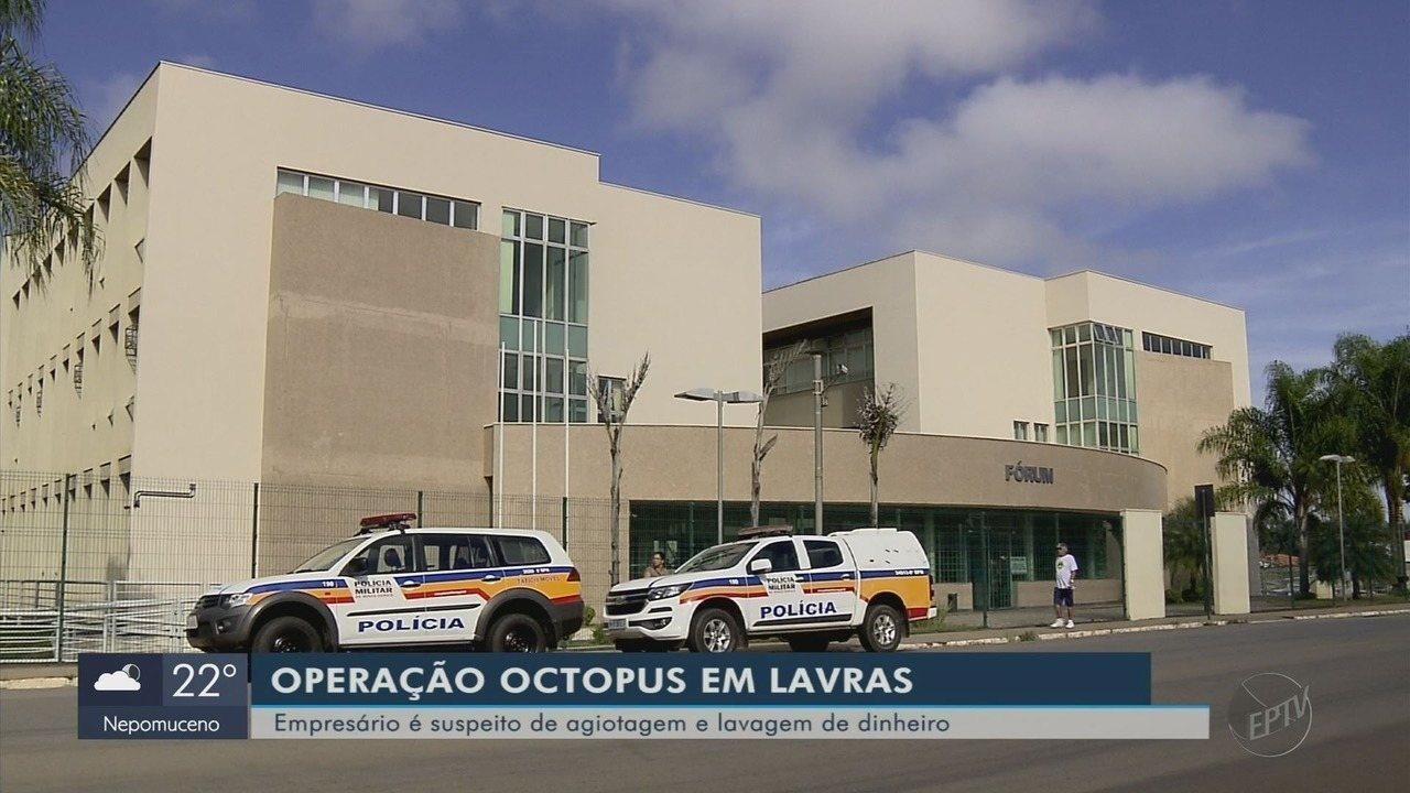 Operação prende empresário suspeito de esquema de agiotas em Lavras (MG)