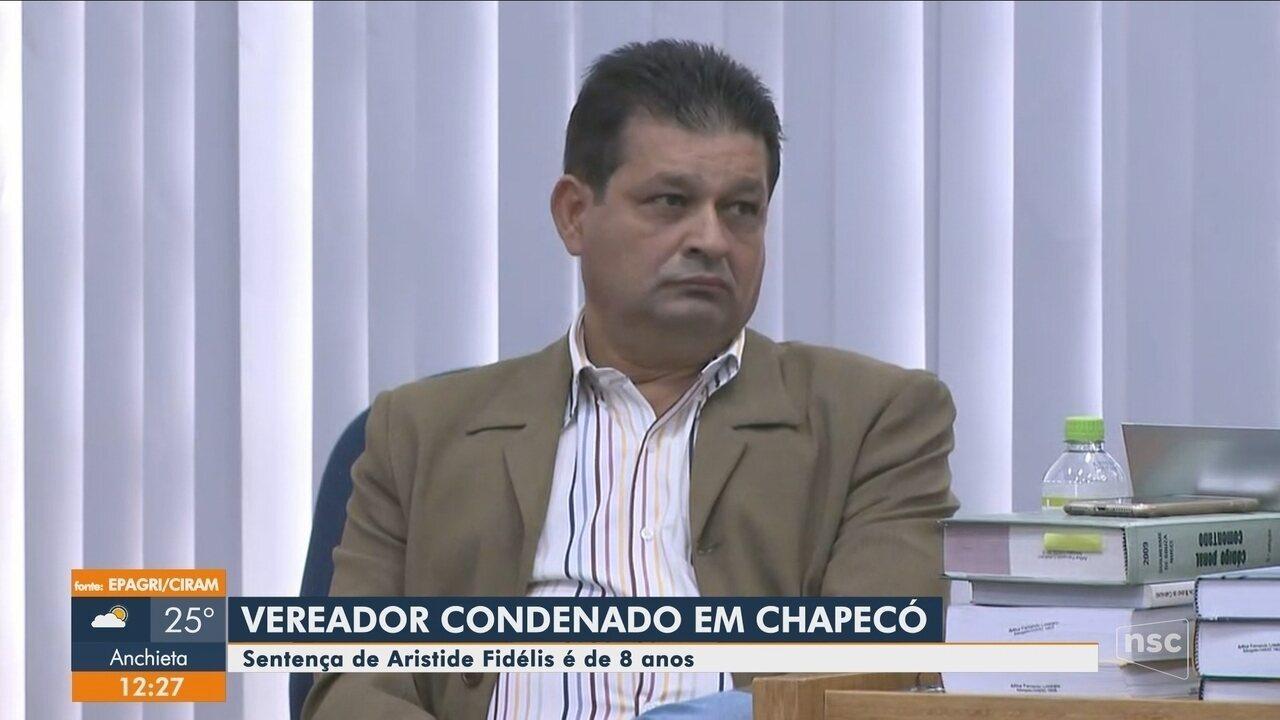 Presidente da Câmara de Vereadores de Chapecó é condenado por sete tentativas de homicídio
