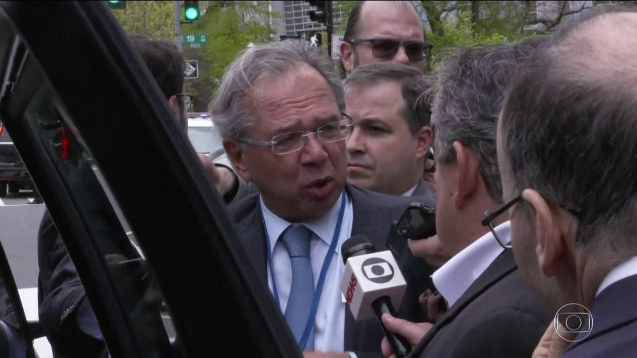 Guedes diz que vai conversar com Bolsonaro sobre intervenção do governo na Petrobras