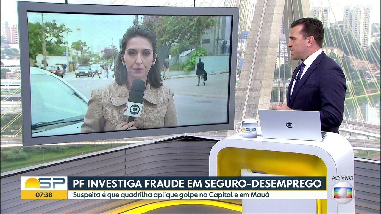 PF investiga fraude em seguro-desemprego