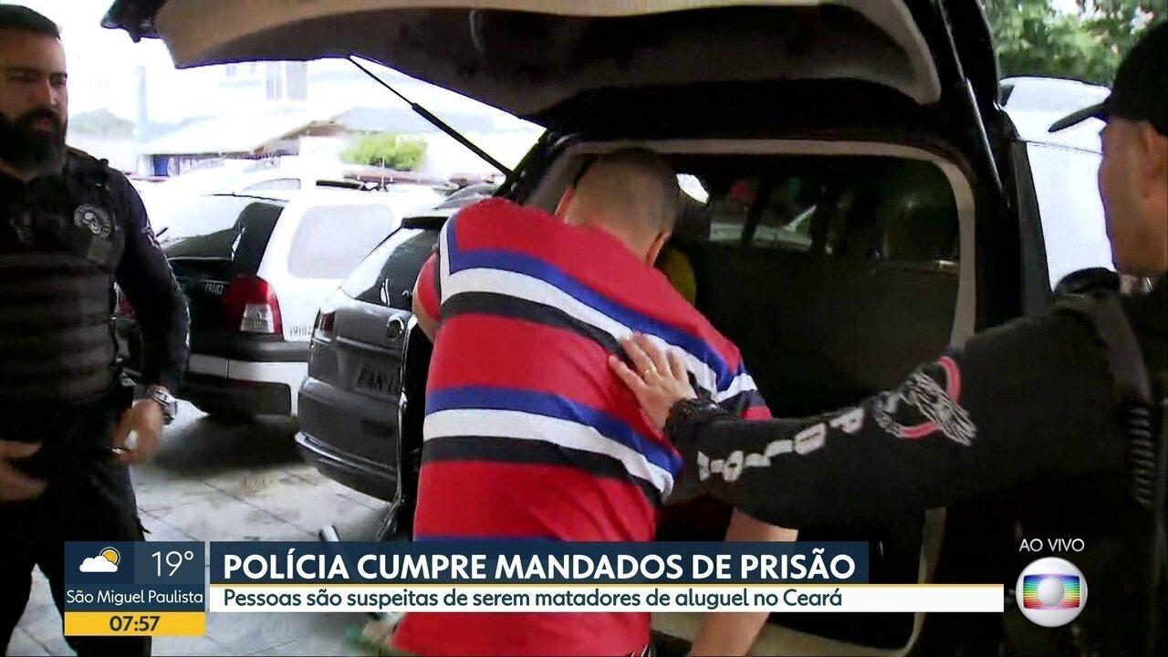Polícia cumpre mandados de prisão