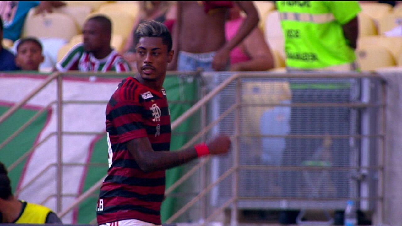 Bruno Henrique se torna protagonista nos clássicos do Flamengo
