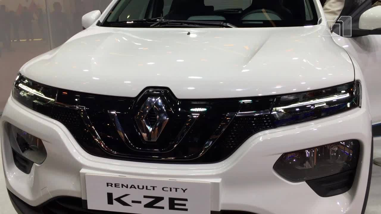 Renault Kwid elétrico é lançado na China