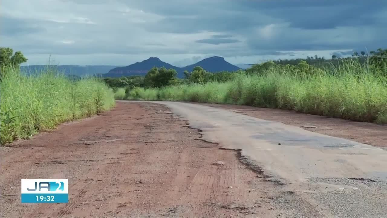 Situação da TO-110 deixa motoristas revoltados no sudeste do Tocantins