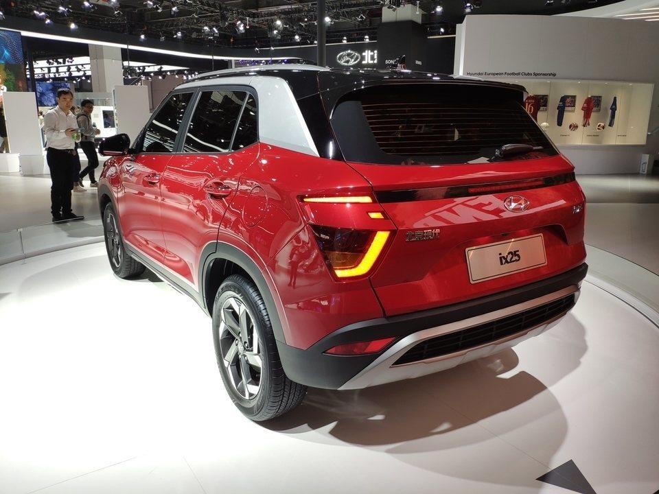 Hyundai Creta reestilizado é revelado na China