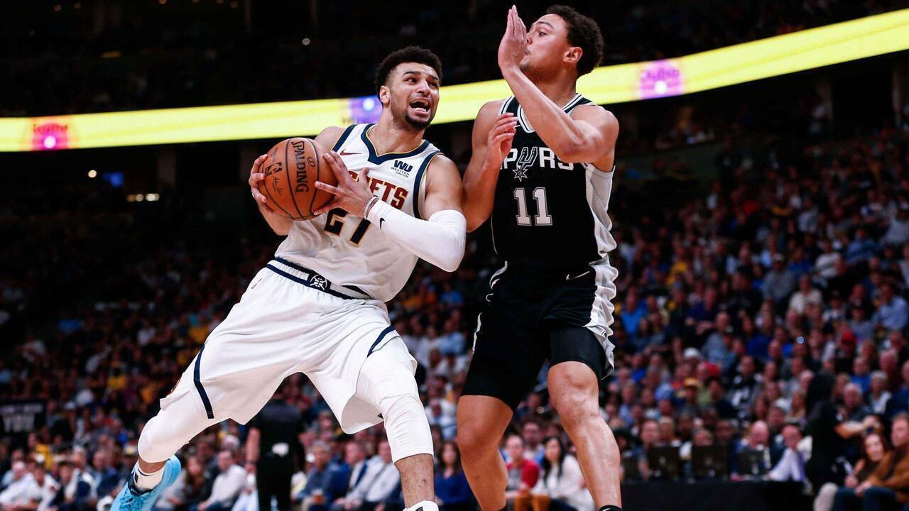 Melhores momentos: San Antonio Spurs 105 x 114 Denver Nuggets, pela NBA