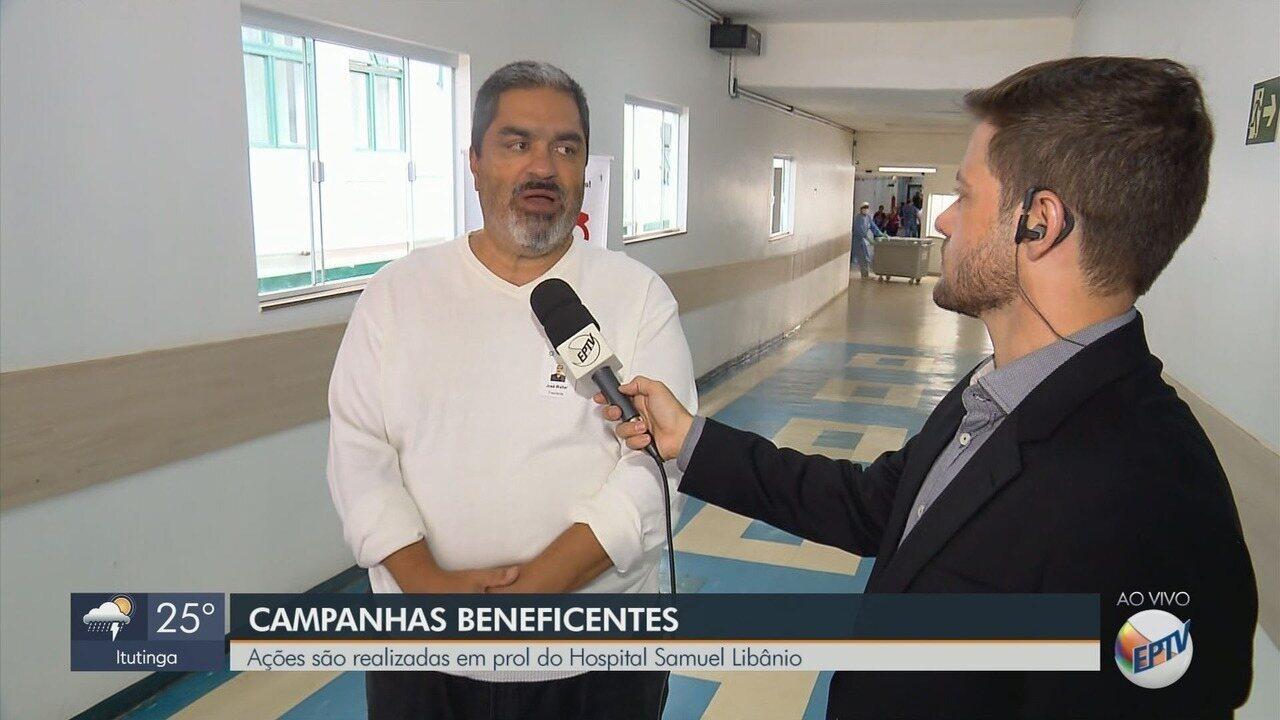 Ações são realizadas em prol do Hospital Samuel Libânio, em Pouso Alegre, MG