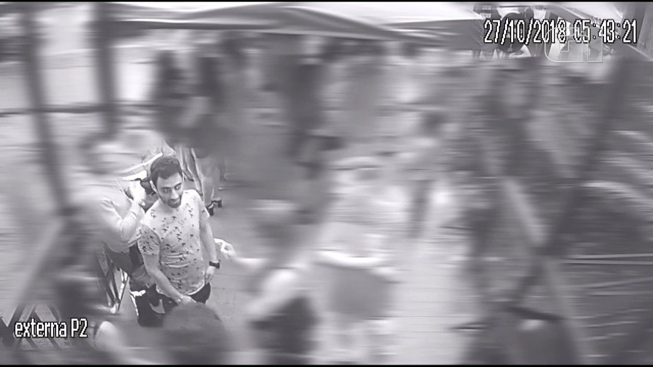 Caso Daniel: imagens mostram jogador sendo empurrado na saída de festa