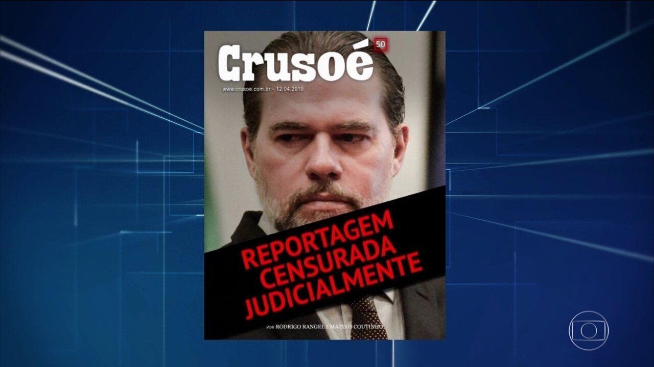 Supremo tem sete ações contra decisão que censurou sites