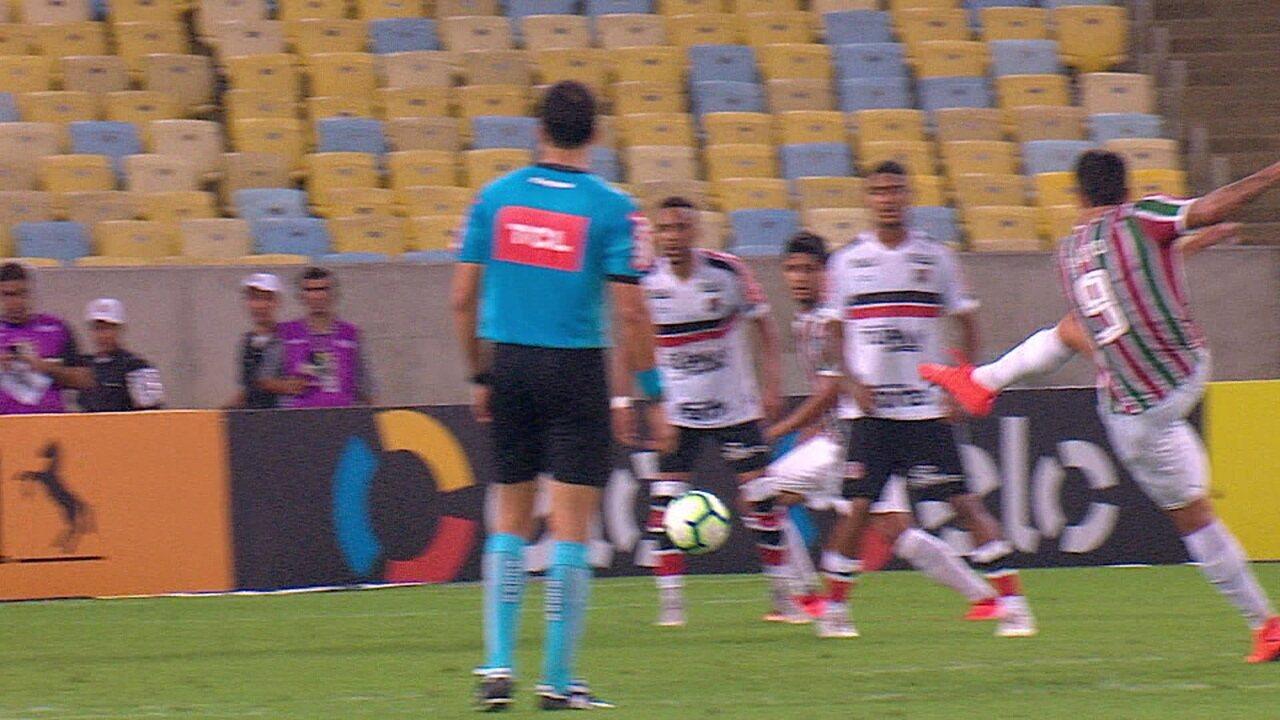 Melhores momentos de Fluminense 2 x 0 Santa Cruz pela 4ª fase da Copa do Brasil