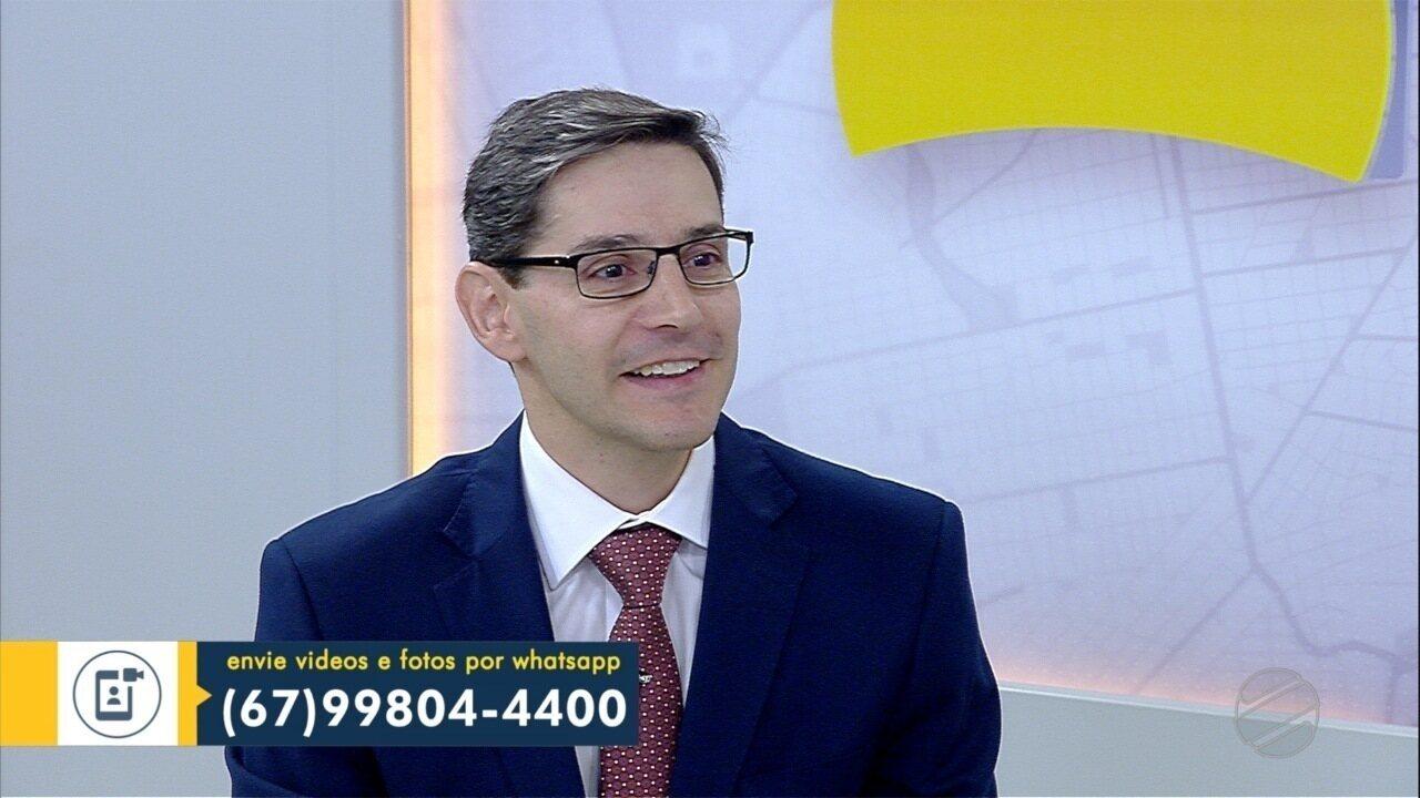 Defensor público geral, Luciano Montali é o entrevistado desta quinta-feira do Papo das 6