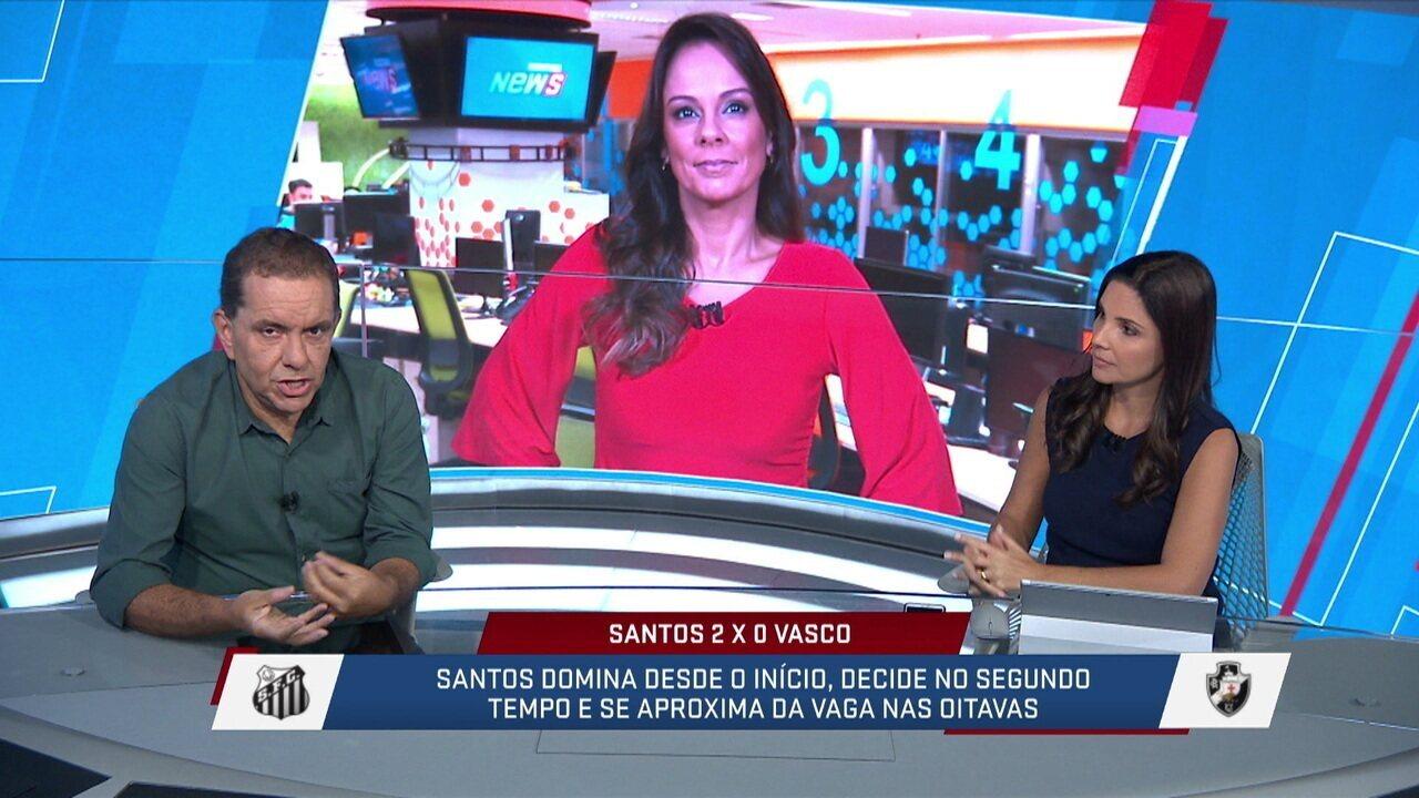 Apesar de derrotas, Valentim fala em trabalho bem feito no Vasco, mas Gonza critica time: