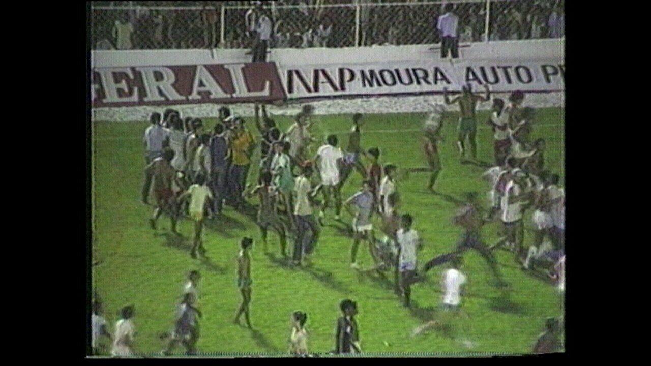 Náutico ganha do Sport nos pênaltis e leva primeiro turno do Pernambucano de 1984