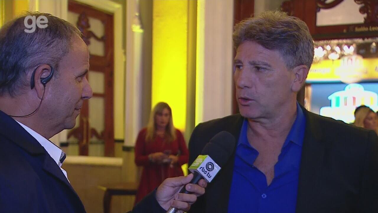 Renato Gaúcho fala sobre conquista do Gauchão 2019 antes da premiação do campeonato