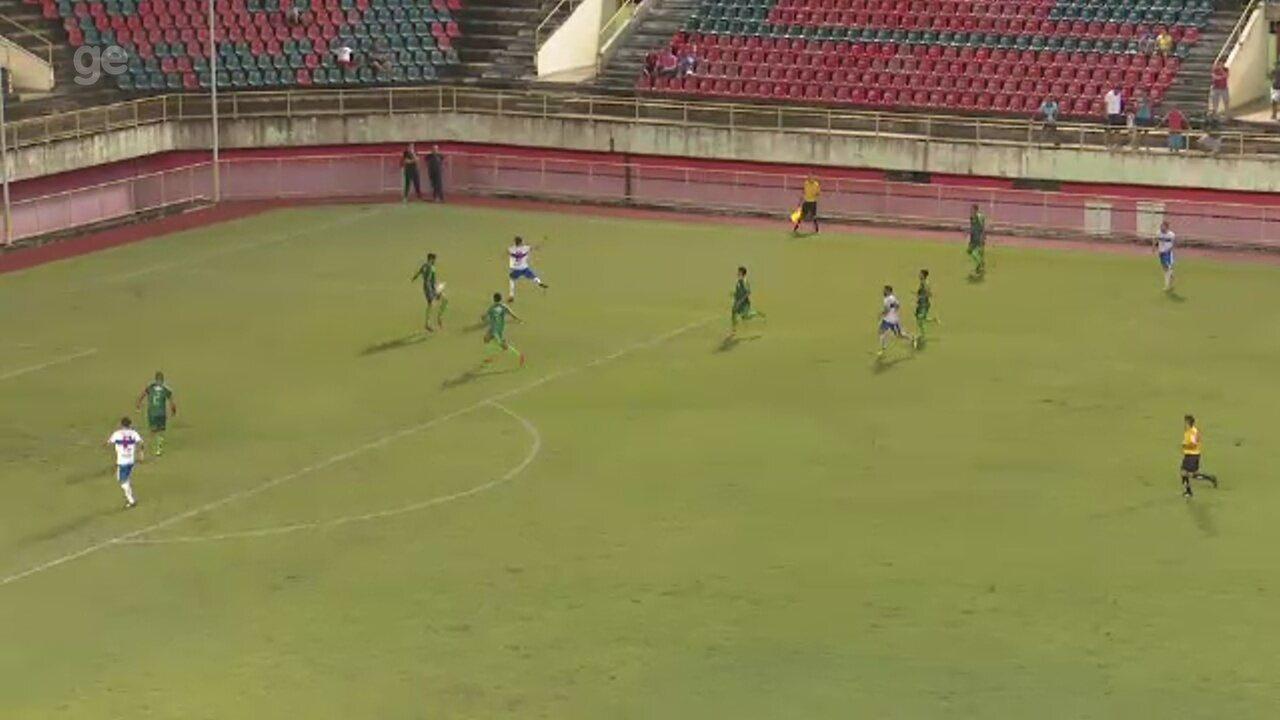 Assista os gols de Galvez 1 x 1 Atlético-AC, primeiro jogo da decisão do Acreano