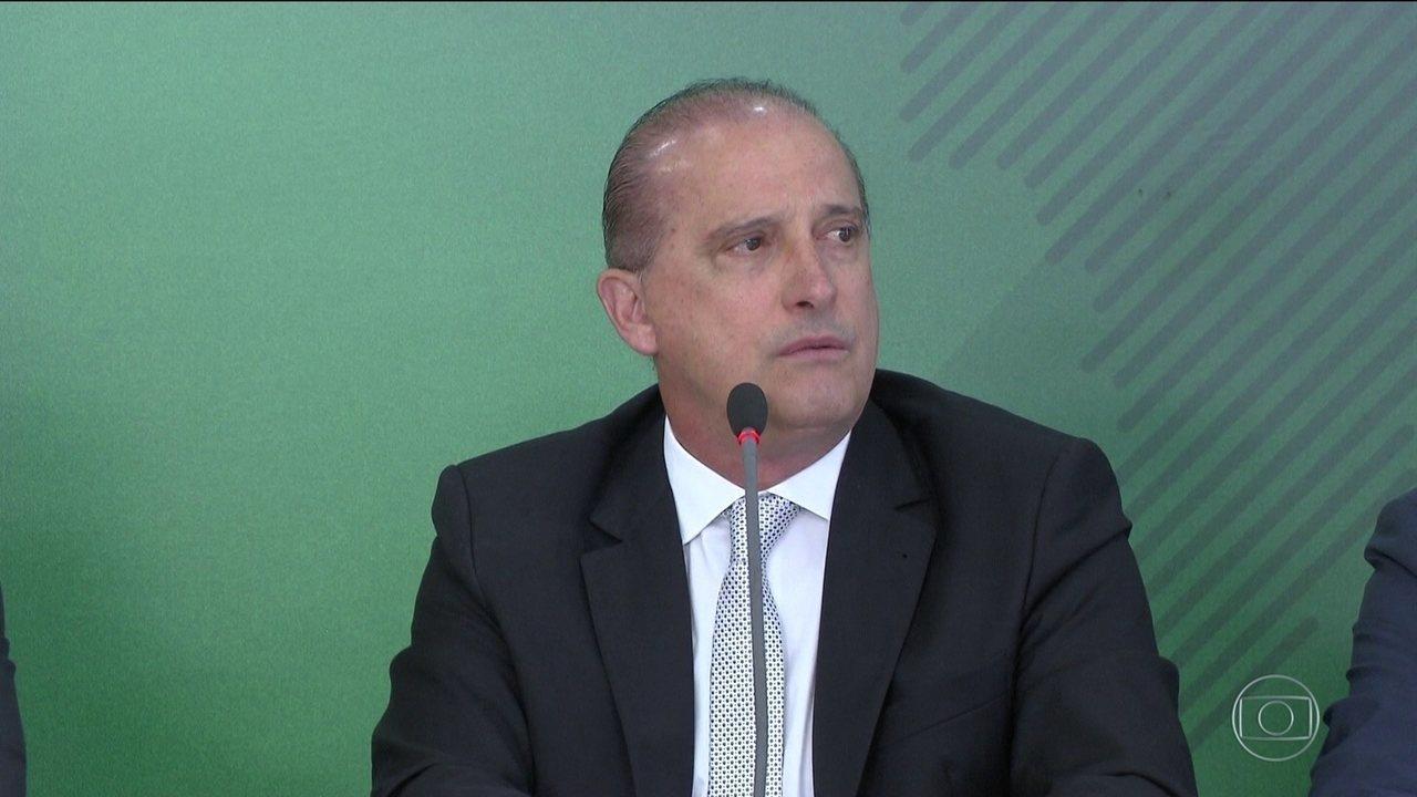 Em áudio enviado a caminhoneiro, Onyx diz que o 'governo deu uma trava na Petrobras'