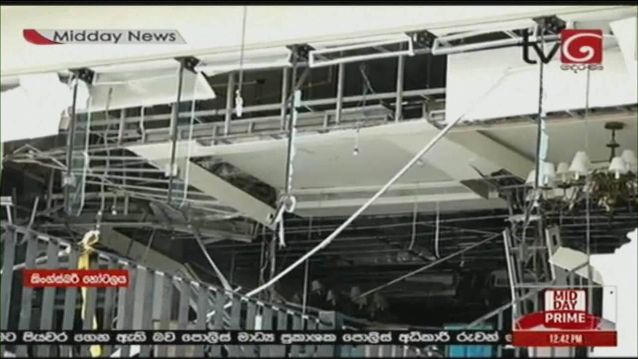 Explosões no Sri Lanka deixam 138 mortos e mais de 400 feridos