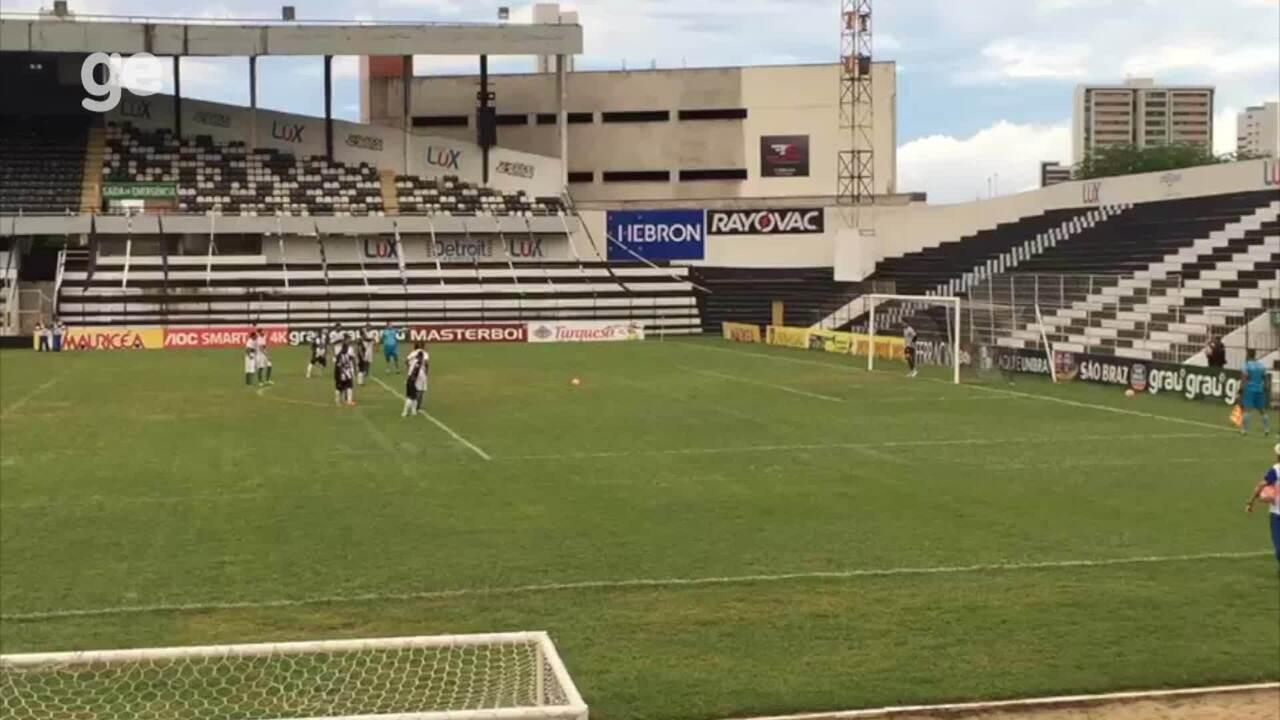 Veja o gol de Leandro Costa contra o Serrano-PB