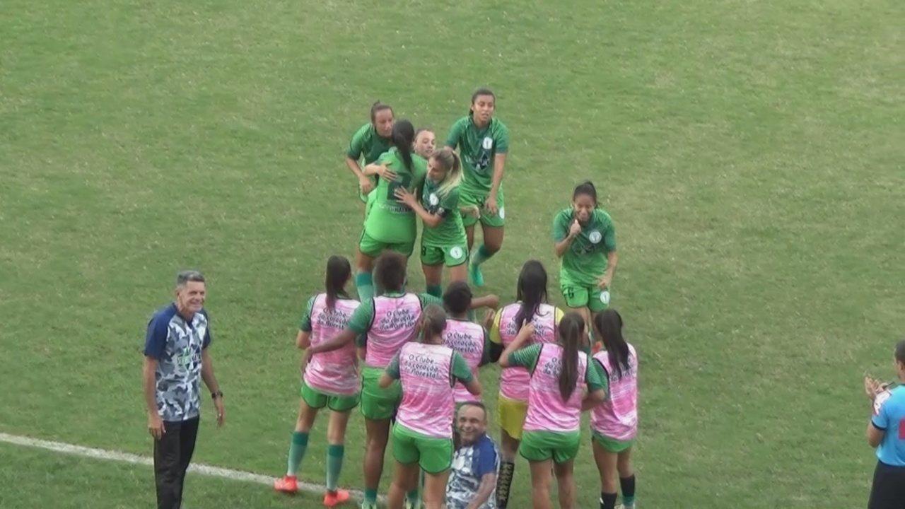 Veja o gol de São José 0 x 1 Iranduba, pelo Brasileiro feminino