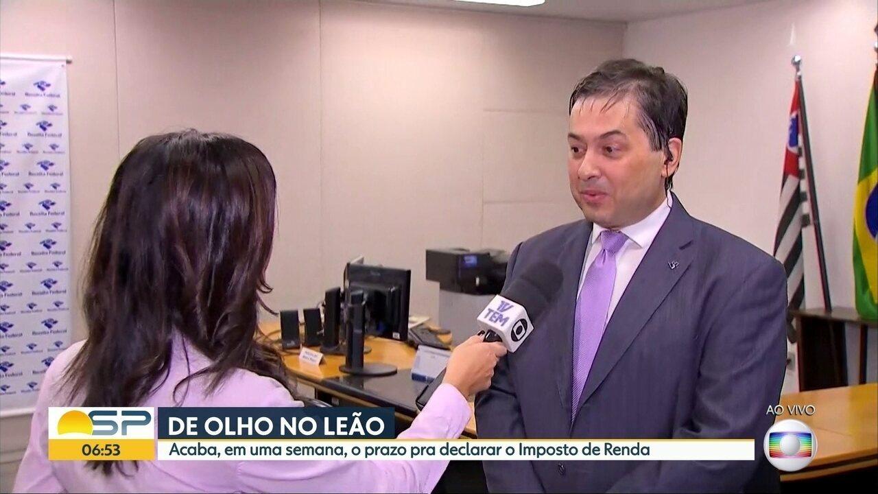 Quase metade dos paulistas ainda não entregou a declaração do imposto de renda