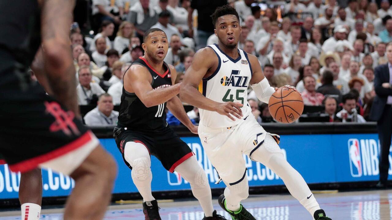 Melhores momentos: Houston Rockets 91 x 107 Utah Jazz pela NBA