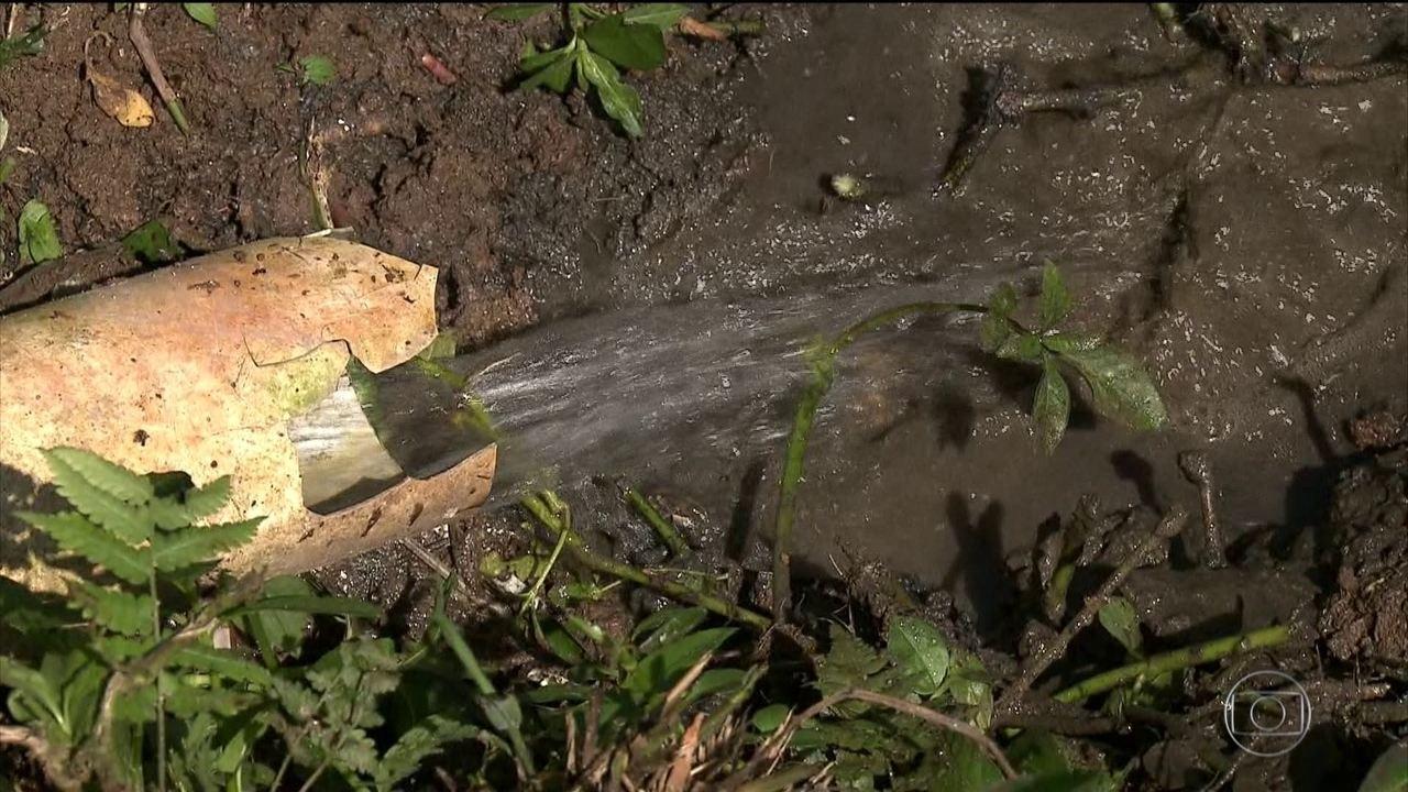 Pesquisa mostra como falta de saneamento afeta a vida dos brasileiros