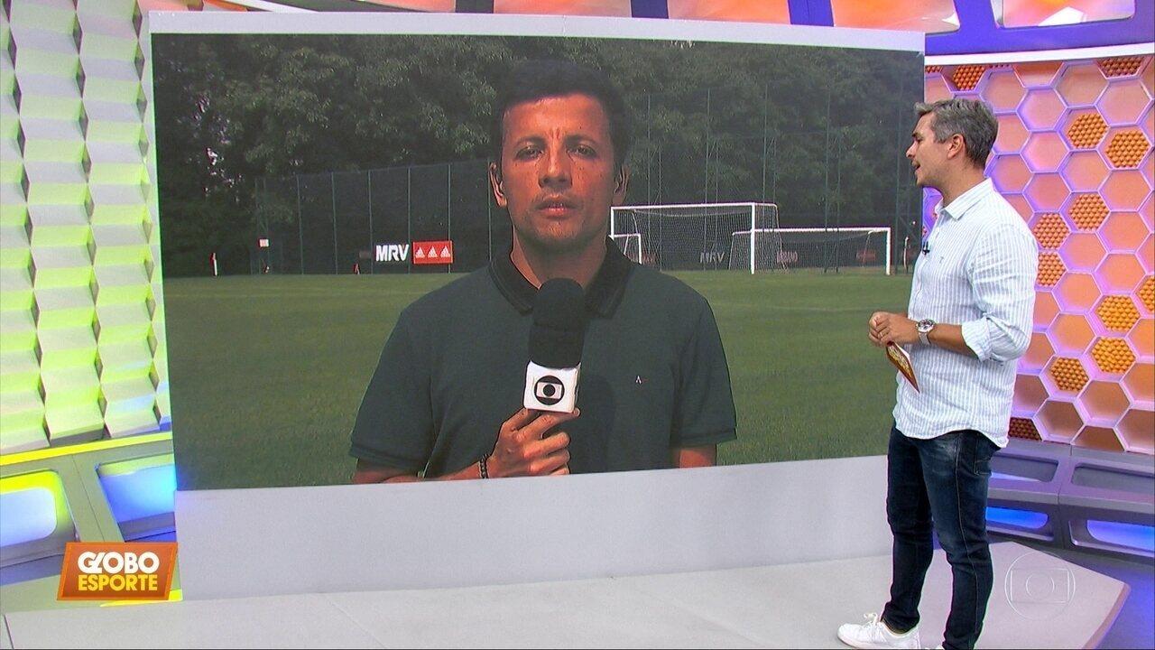 Gonzalo Carneiro cai no exame antidoping, e o técnico Cuca comenta no São Paulo