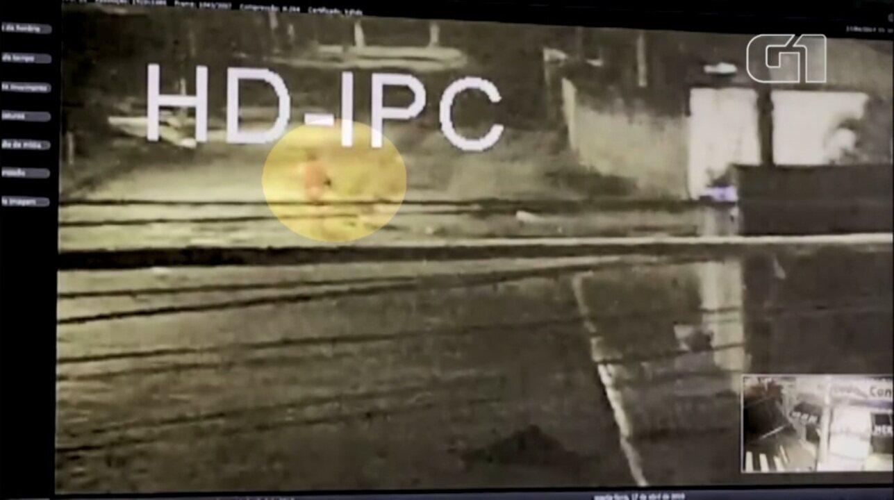 Vídeo mostra suspeito carregando no colo menina de 6 anos morta em Mongaguá, SP