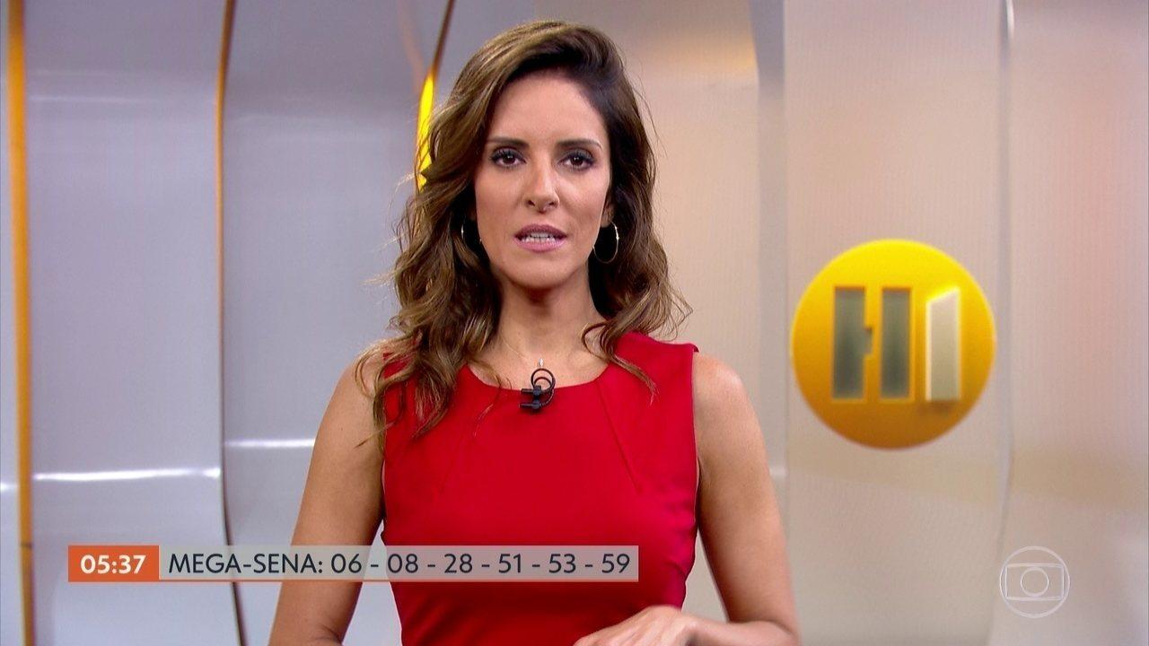 Mega Sena acumula e prêmio deve chegar a R$ 105 milhões no sábado (27)