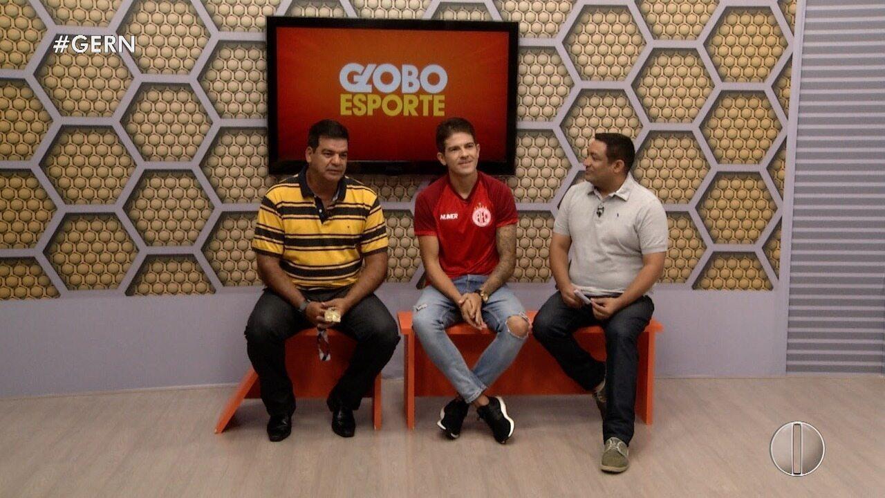 Entrevista Globo Esporte RN 25 ABRIL 2019
