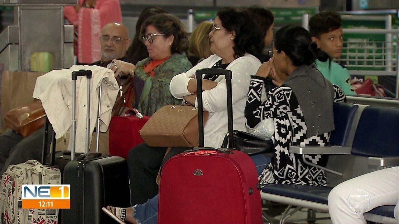 Avianca cancela voos com saída e chegada ao Recife e causa transtorno a passageiros