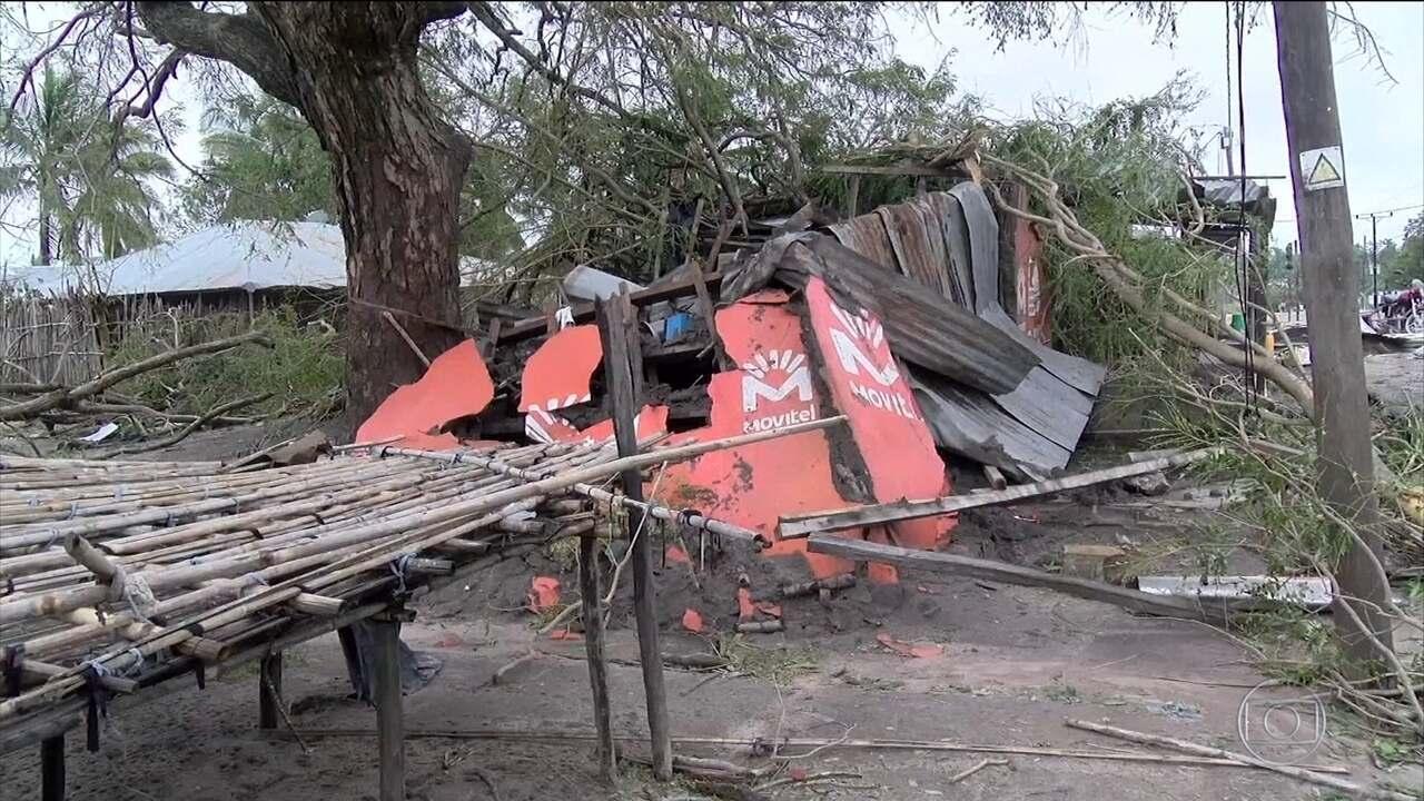 Ciclone Kenneth deixa cinco mortos em Moçambique