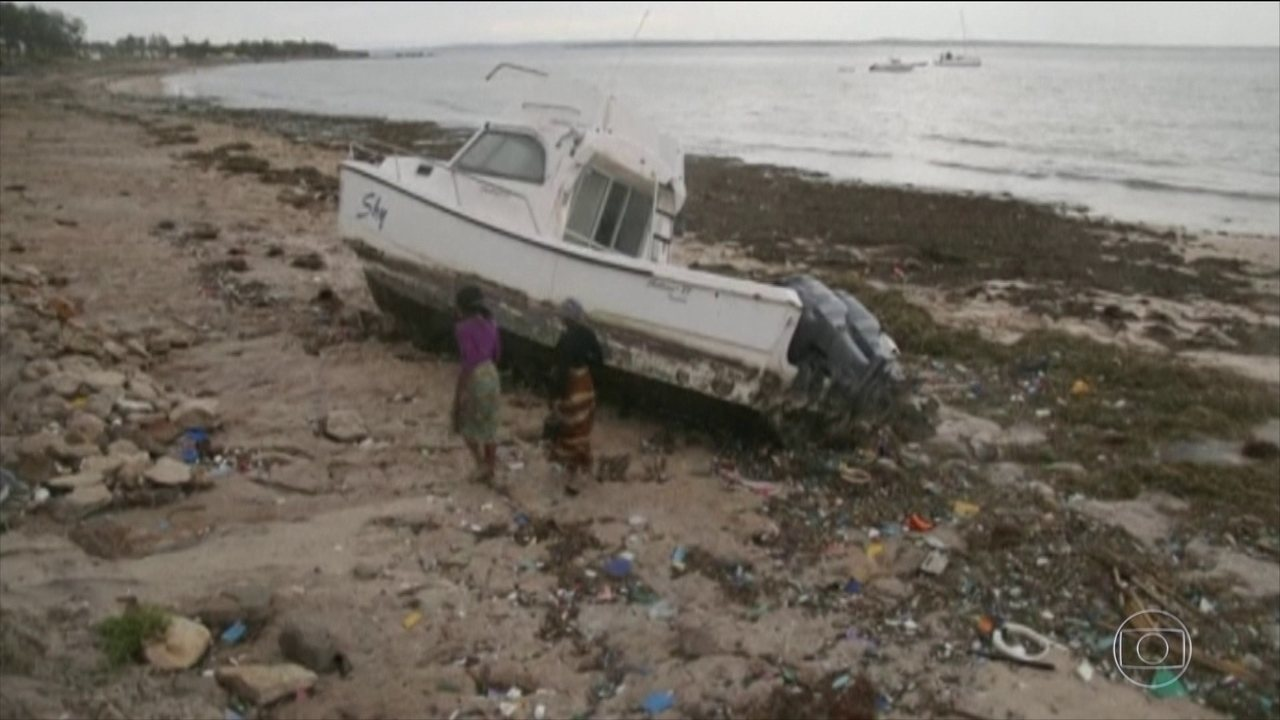 Chega a 38 número de mortos na passagem pelo ciclone Kenneth, em Moçambique