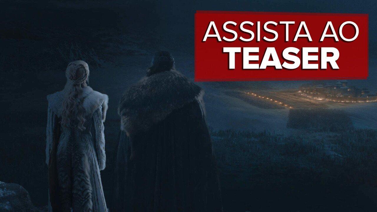 'Game of Thrones': Veja teaser do terceiro episódio da oitava temporada da série
