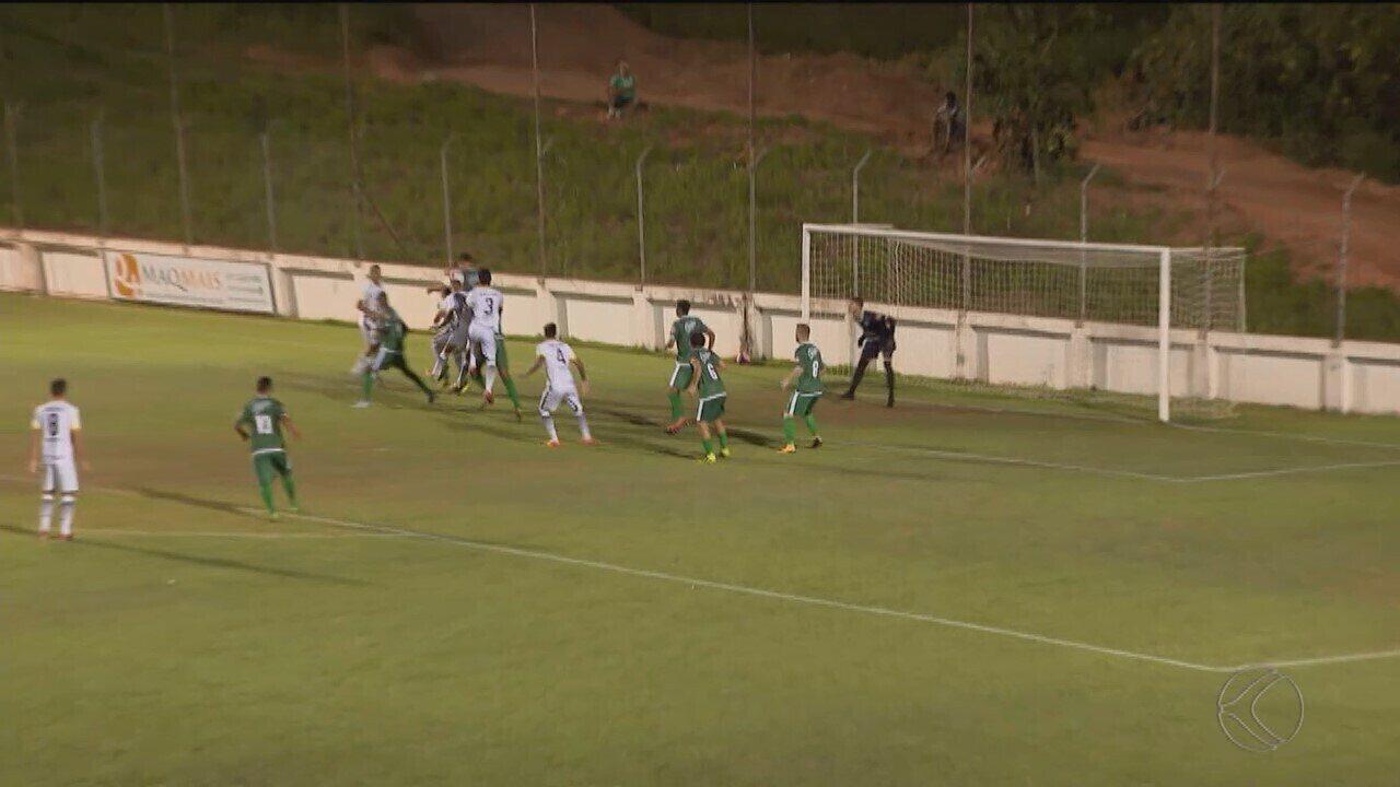 Uberlândia perde para o Serranense no 1º jogo da semifinal do Módulo 2