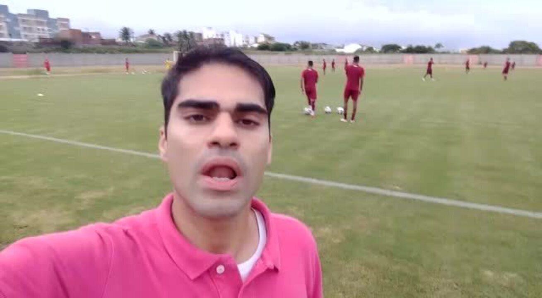 Repórter Oscar Xavier traz as novidades do treino do América-RN