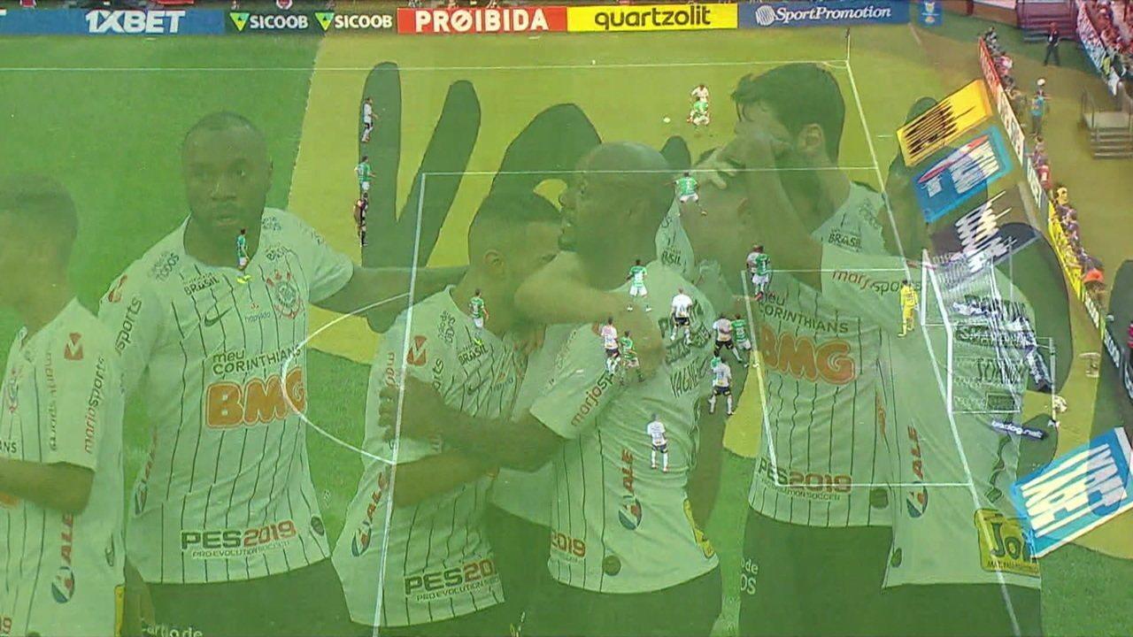Melhores momentos de Corinthians 1 x 0 Chapecoense pelo Campeonato Brasileiro 2019
